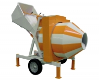 Бетоносмеситель СБР-800, 15-18 метров куб./ч, 800 л, 7.5 кВт, 380 В