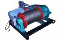 Лебедка электрическая монтажно-тяговая ЛМТ-1,0 (1.0тс)