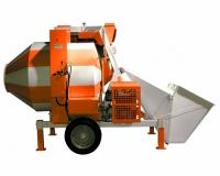 Бетоносмеситель СБР-1200 25-30 метров куб./ч, 1200 л, 10 кВт, 380 В