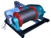 Лебедка электрическая монтажная ЛМ-1,5 (1,5тс)