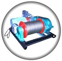 Лебедка электрическая ЛМТ-1,5 (1,5тс — монтажно-тяговая)