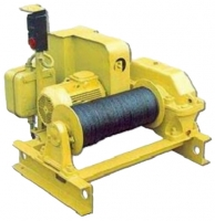 Электрическая тяговая лебедка типа ТЭЛ-5