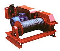 Лебедка электрическая ТЛ-16А (0,35тс)- монтажная