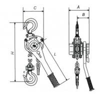 Тали ручные рычажные: LEMA LMT-1503L