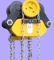 Ручные тали с уменьшенной строительной высотой ТРШБУ - грузоподъемность 2,5–3,2 тонны