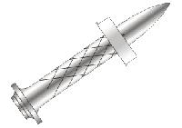 Дюбель-гвозди HDD 13 Р10 по металлу для ПЦ-84 и ППМ-603