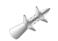 Дюбель-гвозди KP ENP-22 для монтажа профлиста