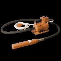 Глубинный вибратор ИВ-75 (28мм) гибкий вал 4,5м (комплект)
