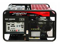 Бензиновый генератор Zenith ZH15000 3DX