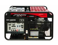 Бензиновый генератор Zenith ZH13000DXE