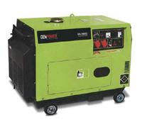 Портативная дизельная электростанция GenPower GDG 4000 E S