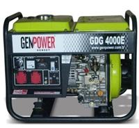 Портативная дизельная электростанция GenPower GDG 4000 E