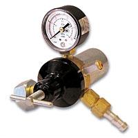Регулятор расхода газа У-30-КР1П (1 манометр) со встроенным подогревателем