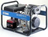 Дизельный генератор SDMO DX 6000TE