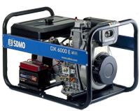 Дизельный генератор SDMO DX 6000E