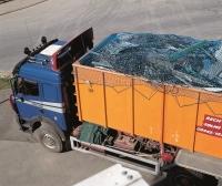 Сетка для укрытия грузов, мусорных контейнеров, Германия [Huck]