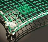 Сетка защитно-улавливающая EN-12953 с дополнительной сеткой для улавливания мелких предметов, Германия [Huck]