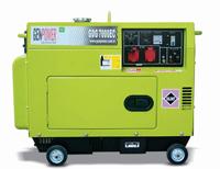 Портативная дизельная электростанция GenPower GDG 7000 E AS