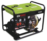 Портативная дизельная электростанция GenPower GDG 8000 ME