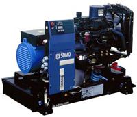 Трехфазный дизель генератор SDMO T16K