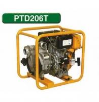 Мотопомпа для сильнозагрязненных жидкостей PTD206T