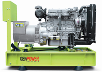 Дизельный генератор GenPower GNT 22