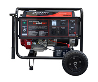Бензиновый генератор Zenith ZH6000DXE