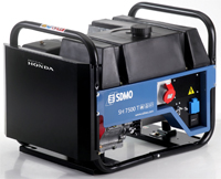 Бензиновый генератор SDMO SH 7500 TE