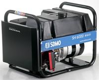 Бензиновый генератор SDMO SH 6000-S