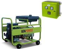 Бензогенератор GenPower GBS 100 MEA
