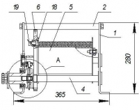 Лебедка ручная барабанная ДИНА-2 г/п 500 кг